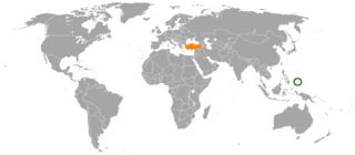 Palau–Turkey relations Bilateral diplomatic relations