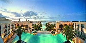 Palazzo Versace Australia - Panoramic view of the resort.