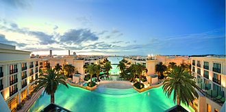 Palazzo Versace Australia - Panoramic view of the resort.