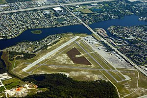Palm Beach County Park Airport - Image: Palm Beach County Park Lantana Airport photo D Ramey Logan