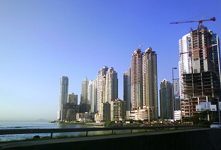 Construction boom in Panama City. Panama-C.jpg