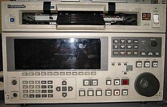 D-3 (video) - Panasonic AJ-D350 D3 VCR