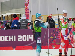Poland at the 2014 Winter Olympics - Magdalena Gwizdoń (right)
