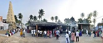 Annur - Panorama view of Sree Manneeshwarar Temple (Inner Side), Annur
