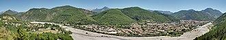 Alpes-de-Haute-Provence - Image: Panoramic view on Digne les Bains