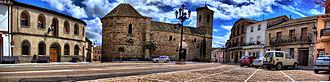 Cervera de los Montes - Image: Panoramica plaza sin nombre