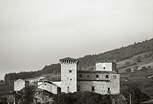 Rocca Flea - Photo by Paolo Monti, 1967.