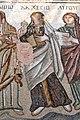 Paphos Haus des Theseus - Mosaik Achilles 3b Lachesis.jpg