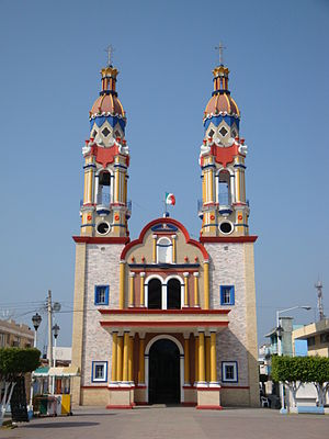 Paraíso, Tabasco - San Marcos Church
