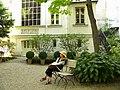 Paris, France. DELACROIX MUSEUM (jardin-3)(PA00088668).jpg