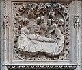 Paris, cathédrale Notre-Dame, bas-relief des chapelles du chœur 01 La mort de la Vierge.jpg