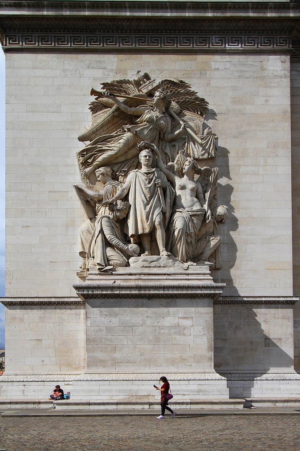 Paris-Arc de Triomphe-108-Le Triomphe de 1810-Jean-Pierre Cortot-2017-gje