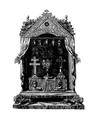 Paris (75), Sainte-Chapelle, grande châsse en 1790.png