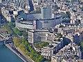Paris Tour Eiffel Blick von der 3. Ebene auf Radio France 2.jpg