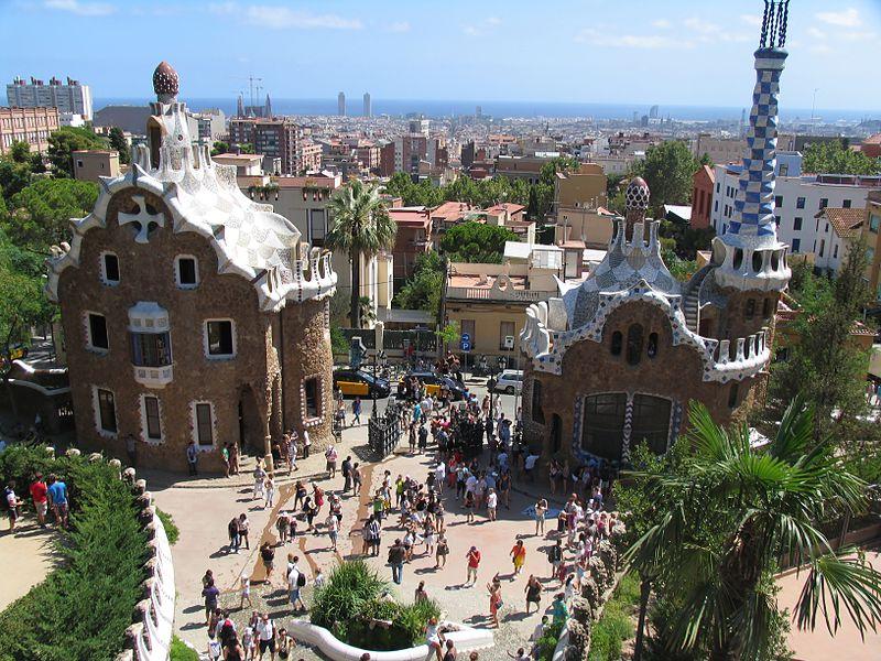 Parc Guel à Barcelone