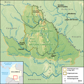 Chiribiquete National Park Wikipedia