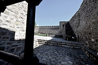 Trikala - Inside the Byzantine castle