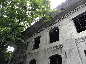 Pasig - Remains of the American-era capitol building, when Pasig was the capital of Rizal province.