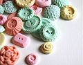 Pastel Peppermint Candy Buttons by Andie's Specialty Sweets IMG 3169.JPG