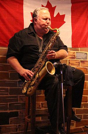 Canadian jazz saxophonist