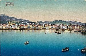 Άποψη της πόλης και του φρουρίου από το λιμάνι