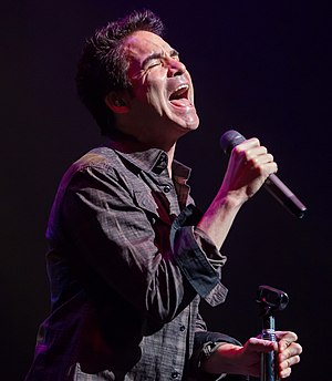 Patrick Monahan - Monahan performing with Train in 2014