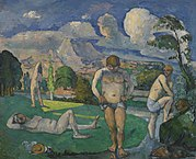 Paul Cézanne - Bathers at Rest (Baigneurs au repos) - BF906 - Barnes Foundation.jpg