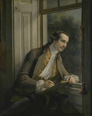 Paul Sandby - Paul Sandby by Francis Cotes (1761)
