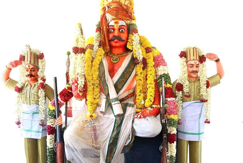 File:Pavadairayan at Om Sri Pavadairayan Temple, Ayipettai, Cuddalore..jpg