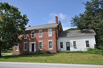 National Register of Historic Places listings in Rutland County, Vermont - Image: Pawlet VT Nathan Allen House