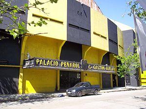 Palacio Contador Gastón Guelfi - Exterior of the arena