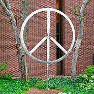 Peace symbol Penn