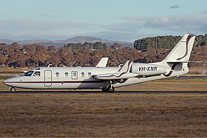 Pel-Air Aviation IAI 1124A Westwind II CBR Gilbert.jpg