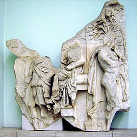 Pergamon Altar - Telephus frieze - panel 2+3.jpg