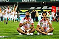 Persepolis F.C. celebrating after 2019–20 Persian Gulf Pro League trophy (18).jpg