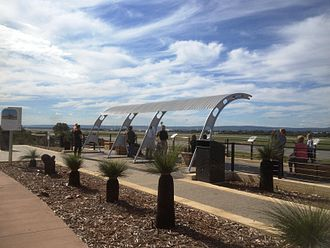 Perth Airport - Viewing platform on Dunreath Drive