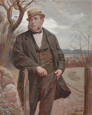 Peter Faber (telegraph specialist) - Peter Faber: painting by Luplau Janssen