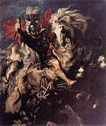 Peter Paul Rubens - St George Fighting the Dragon - WGA20186.jpg