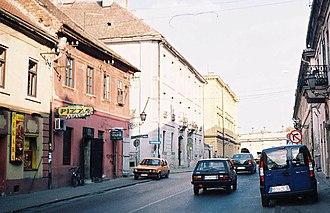 Petrovaradin - Petrovaradin, Downtown part of the Citadel