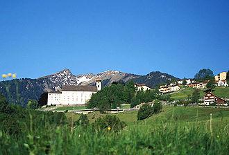 Pfäfers Abbey - Abbey and Bad Ragaz.