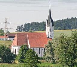 Die Pfarrkirche Maria Heimsuchung in Unterdietfurt