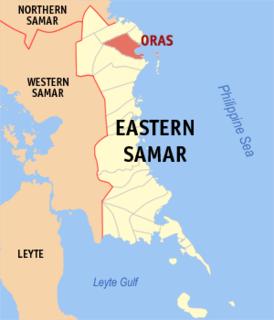 Oras, Eastern Samar Municipality in Eastern Visayas, Philippines