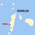 Ph locator romblon ferrol.png