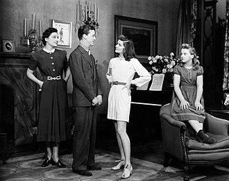 Dan Tobin - Dan Tobin and Katharine Hepburn on Broadway in The Philadelphia Story (1939)