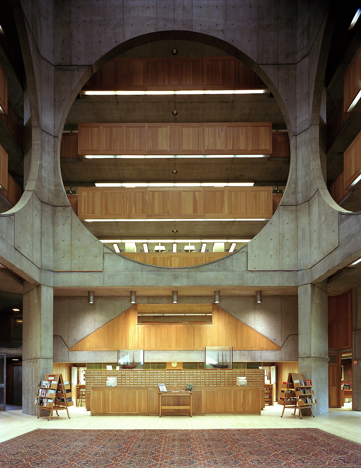 Phillips Exeter Academy Library Wikipedia