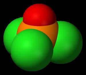 Phosphoryl chloride - Image: Phosphoryl chloride 3D vd W