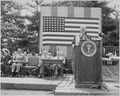 Photograph of President Truman delivering a speech at the Sixth Annual Honor Awards Program of the Department of... - NARA - 200385.tif