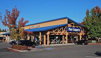 Pier 1 Imports - Image: Pier 1 Imports store in Tanasbourne Hillsboro, Oregon (2013)