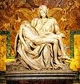Pietà Vaticana ( Michelangelo Buonarroti 1497-1499 ) - panoramio.jpg