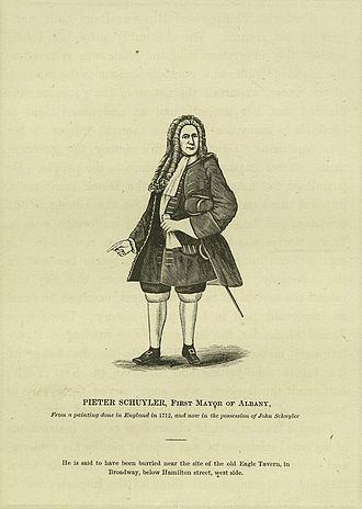 Pieter Schuyler - Print of Schuyler.